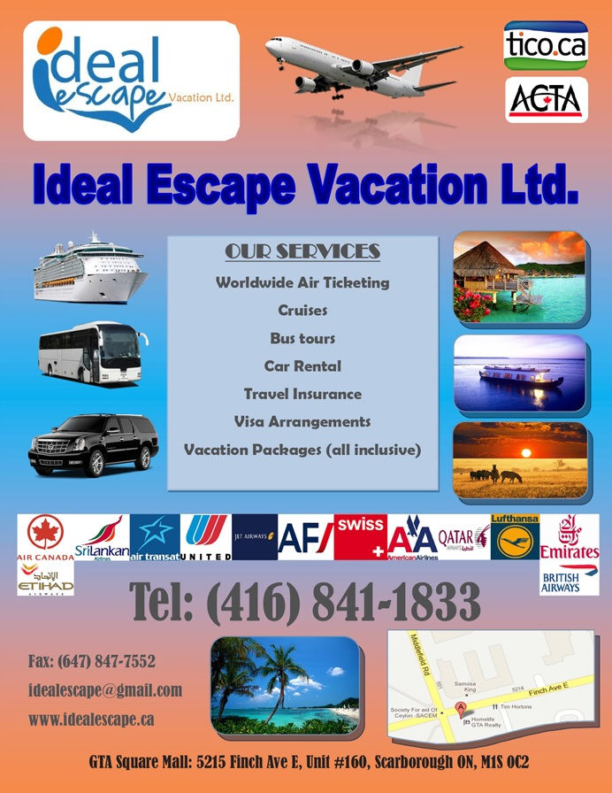 Ideal Escape