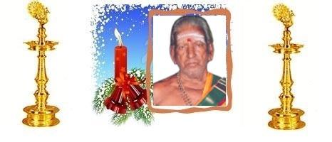 முதலாம் ஆண்டு நினைவலைகள்: அமரர் ஆபதோத்தாரணக்குருக்கள் சோமசுந்தரக்குருக்கள் (